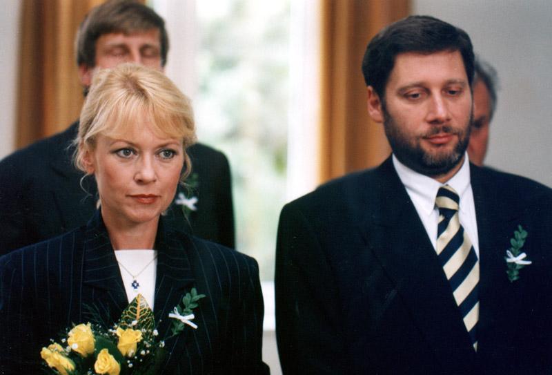 Katerina Machácková and Tomás Töpfer in Zivot na zámku (1995)