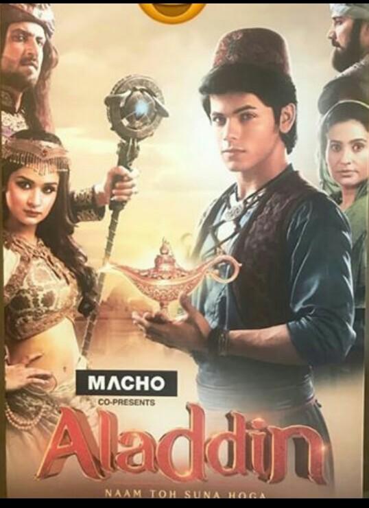 Smita Bansal, Avneet Kaur, and Siddharth Nigam in Aladdin - Naam Toh Suna Hoga (2018)