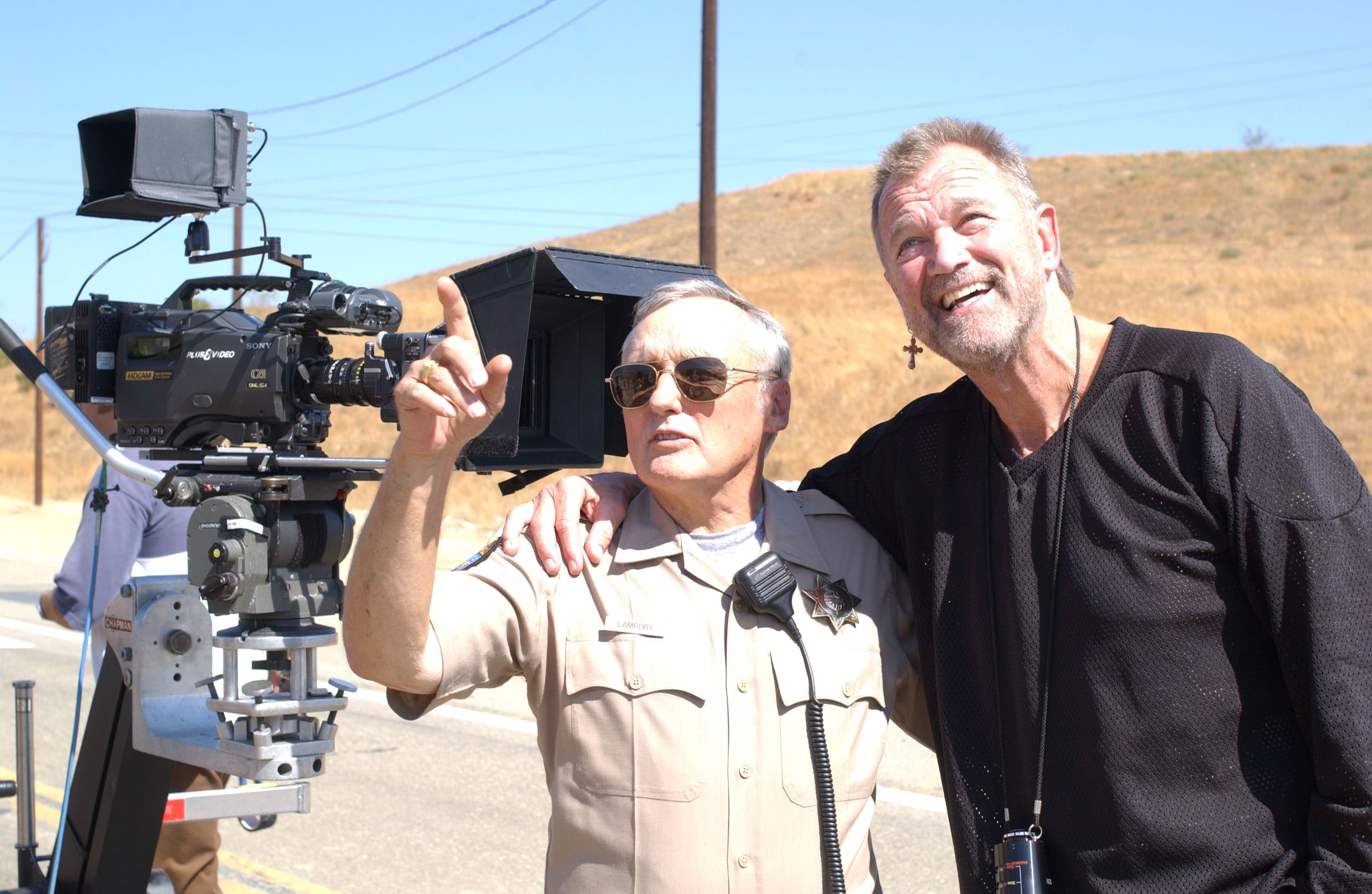 Directing Dennis Hopper in MADE FOR EACH OTHER