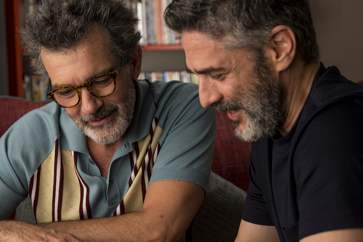 Antonio Banderas and Leonardo Sbaraglia in Dolor y gloria (2019)