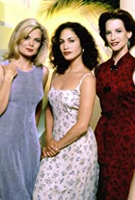 Jennifer Lopez, Cheryl Pollak, and Romy Walthall in Hotel Malibu (1994)