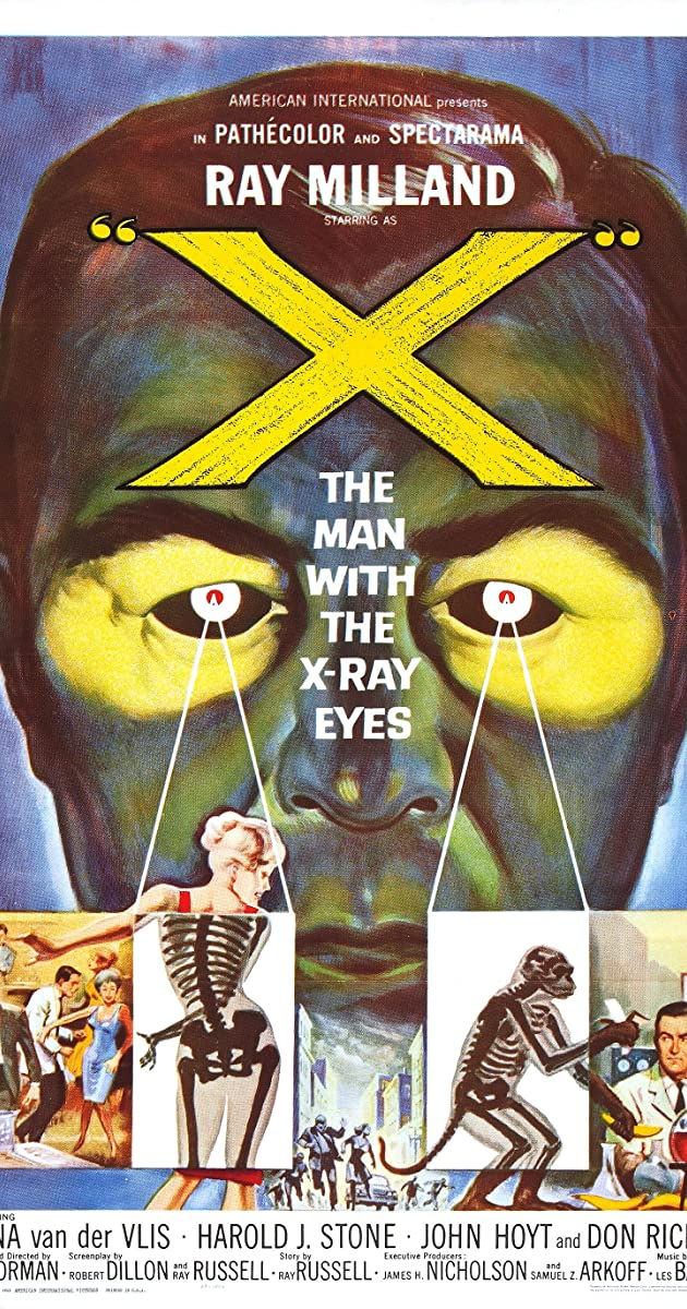 Subtitle of X: The Man with the X-Ray Eyes