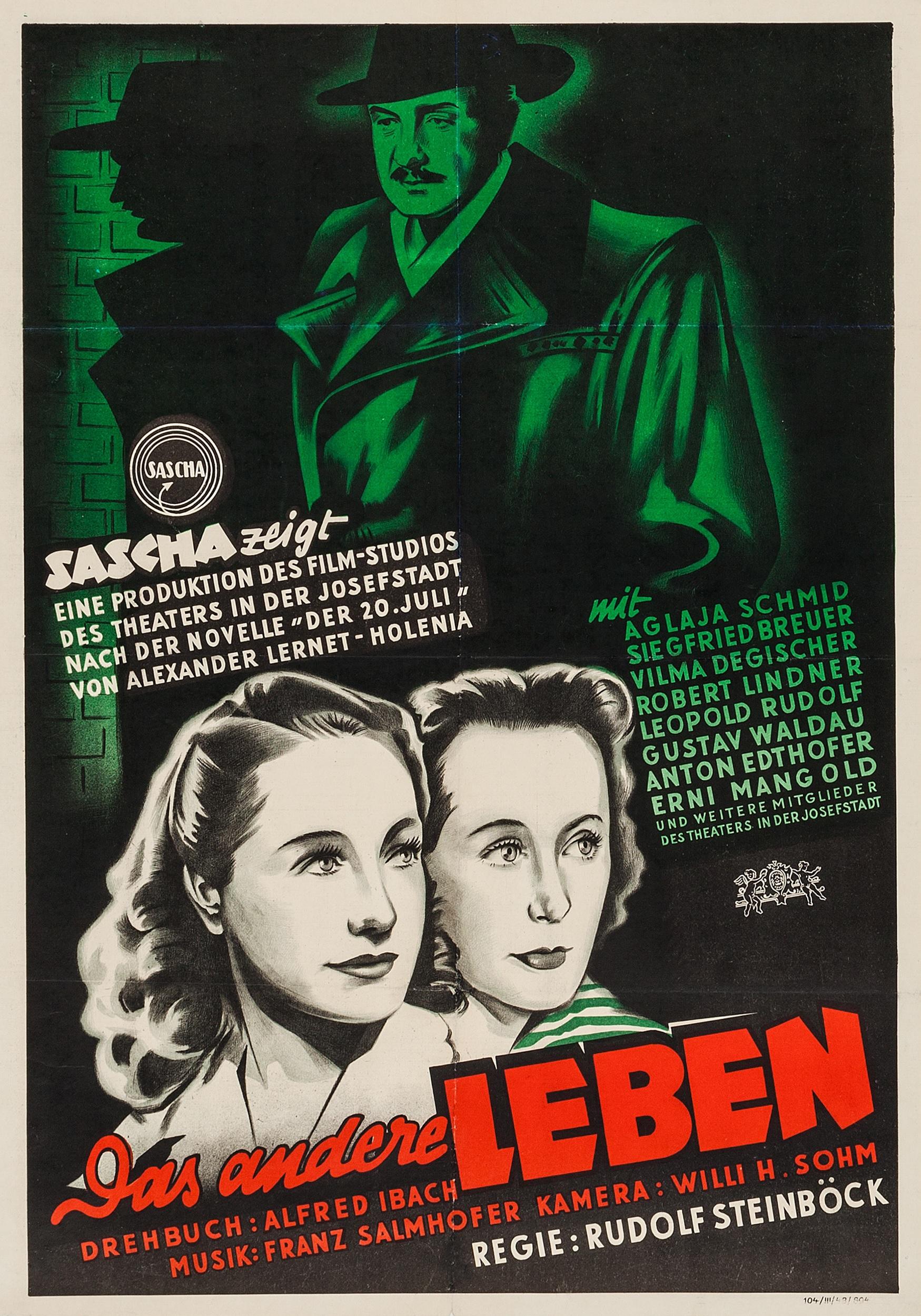 Das Leben Der Anderen  German Movie Posters Classic Vintage Films