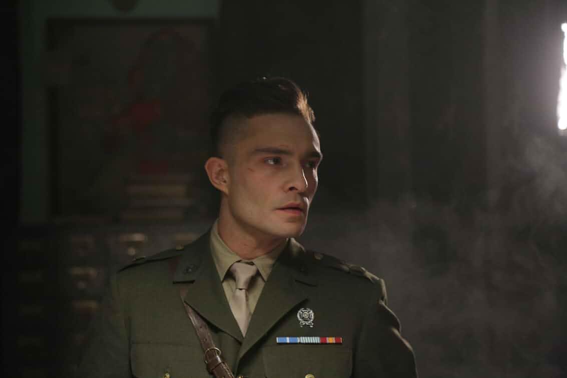 Ed Westwick in Enemy Lines (2020)