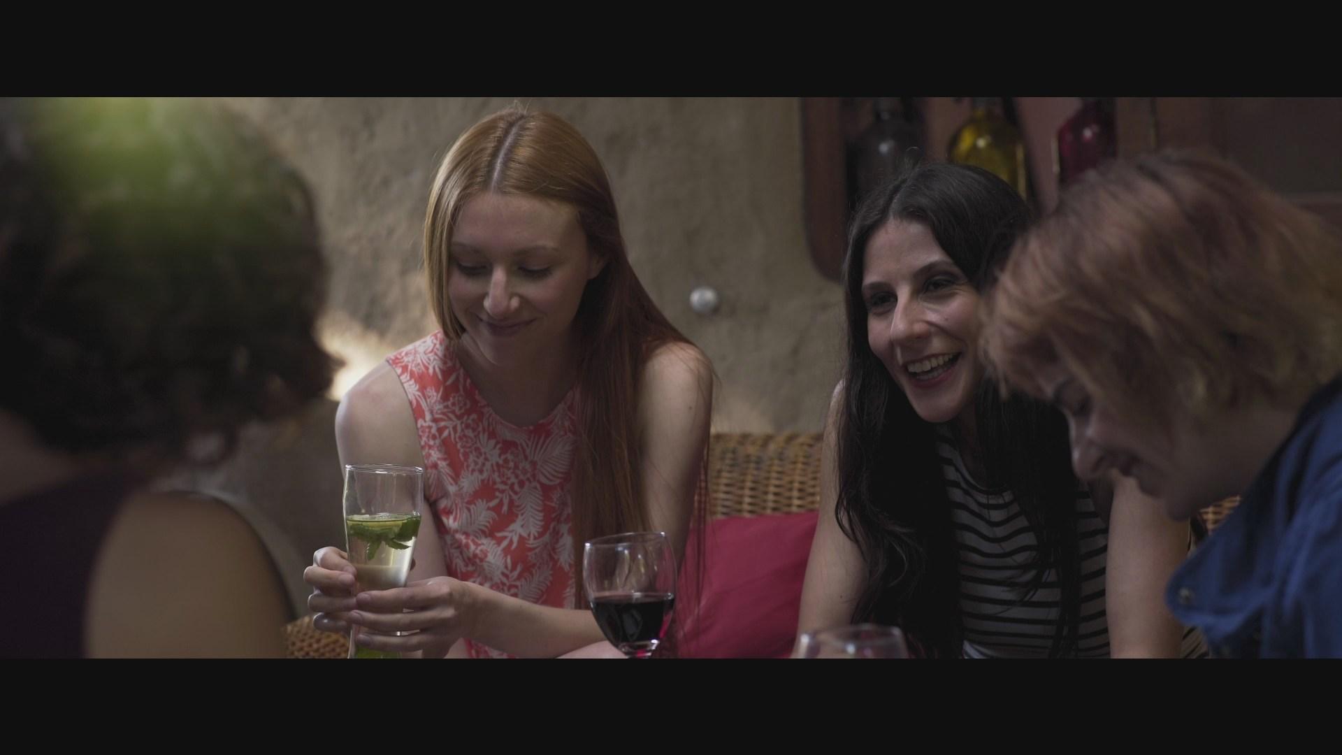 Catalina Martin, Ximena del Solar, Macarena Carrere, and Dominga Bofill in Trauma (2017)