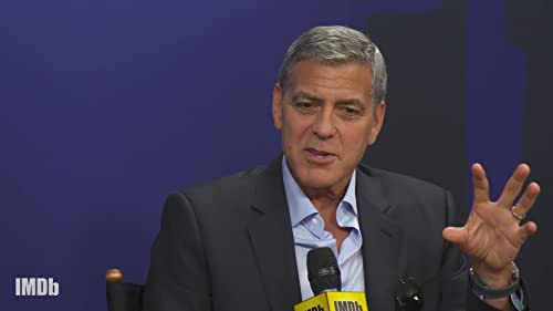 George Clooney on Directing and Not Kissing the Girl