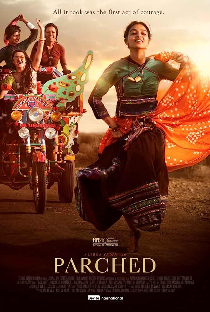 Parched (2015) Hindi 720p, 480p NF WEBRip x264 Esub