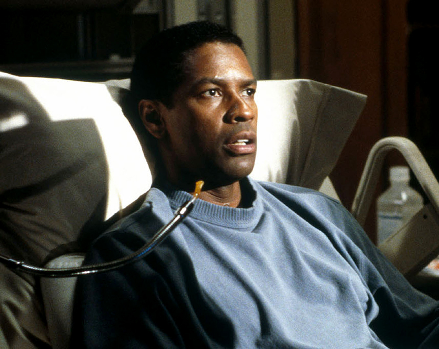 Denzel Washington in The Bone Collector 1999