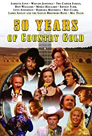 50 Years of Country Music Poster