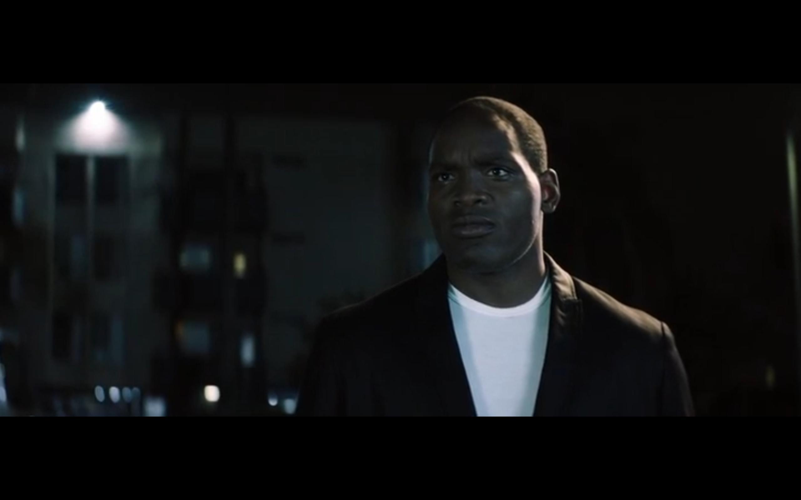 Gene Freeman as OJ Simpson on The murder of Nicole Brown