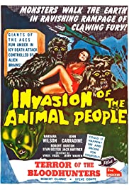 Invasion of the Animal People Poster