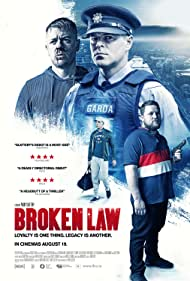 Tristan Heanue and John Connors in Broken Law (2020)