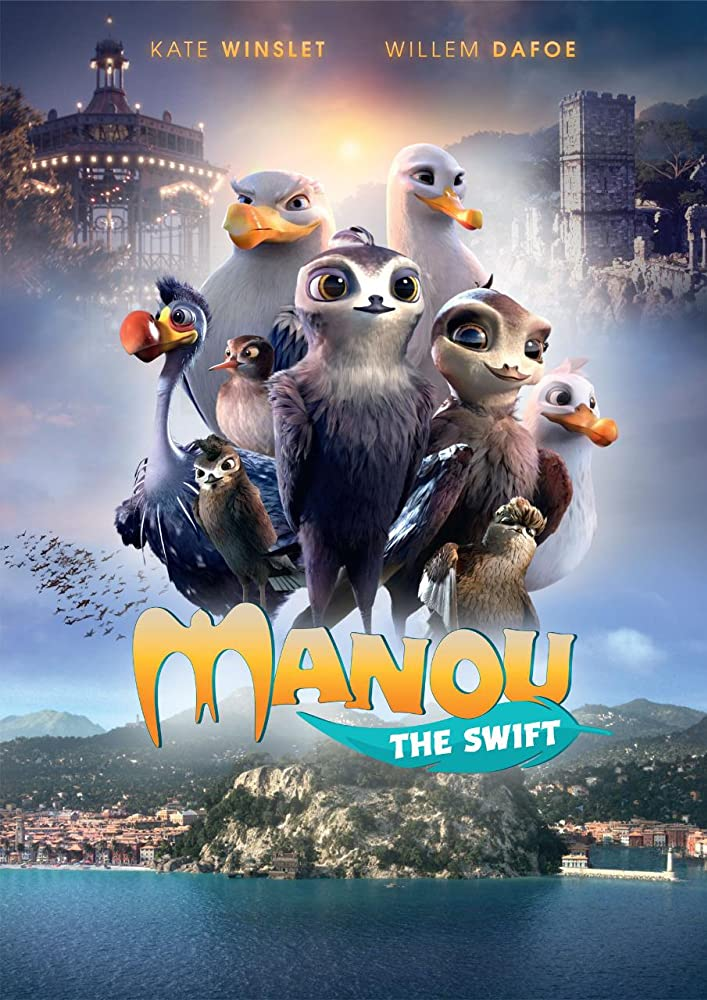 Manou the Swift Cover