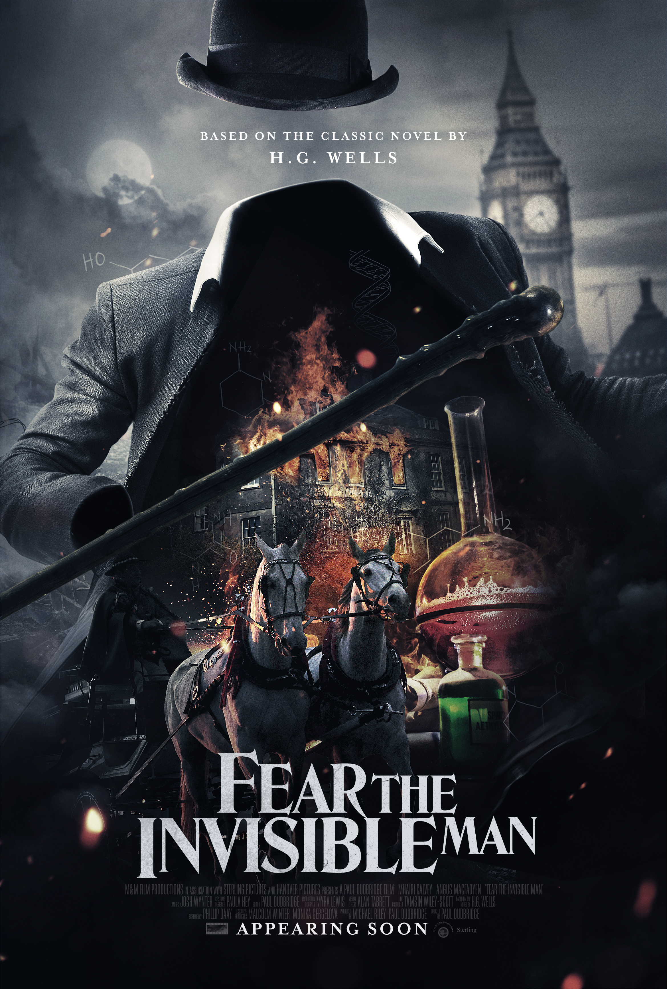 Fear the Invisible Man - IMDb
