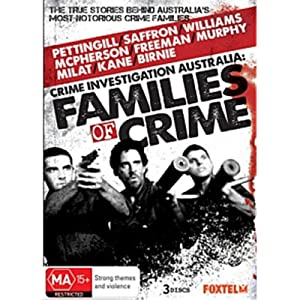 Where to stream Australian Families of Crime
