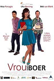 Nico Panagio, Lika Berning, and Bok van Blerk in Vrou soek boer (2014)