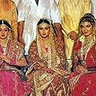 Sridevi, Poonam Dhillon, and Kimi Katkar in Sone Pe Suhaaga (1988)