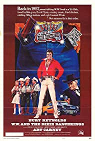 W.W. and the Dixie Dancekings (1975) Poster - Movie Forum, Cast, Reviews