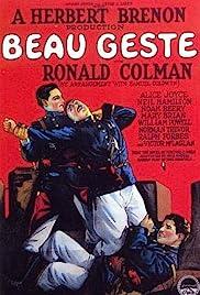 Beau Geste(1926) Poster - Movie Forum, Cast, Reviews