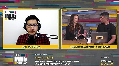 Troian Bellisario on Working with Patrick J. Adams in ' Clara'