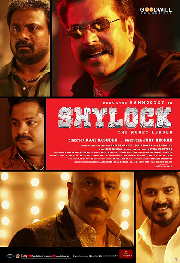 Shylock (2020) Malayalam Full Movie Watch Online Download