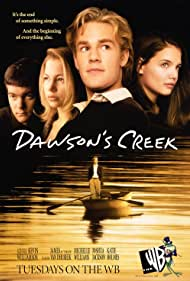 James Van Der Beek, Katie Holmes, Joshua Jackson, and Michelle Williams in Dawson's Creek (1998)