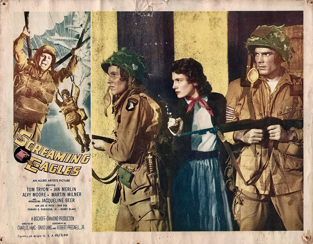 War Movie : Screaming Eagles (1956)