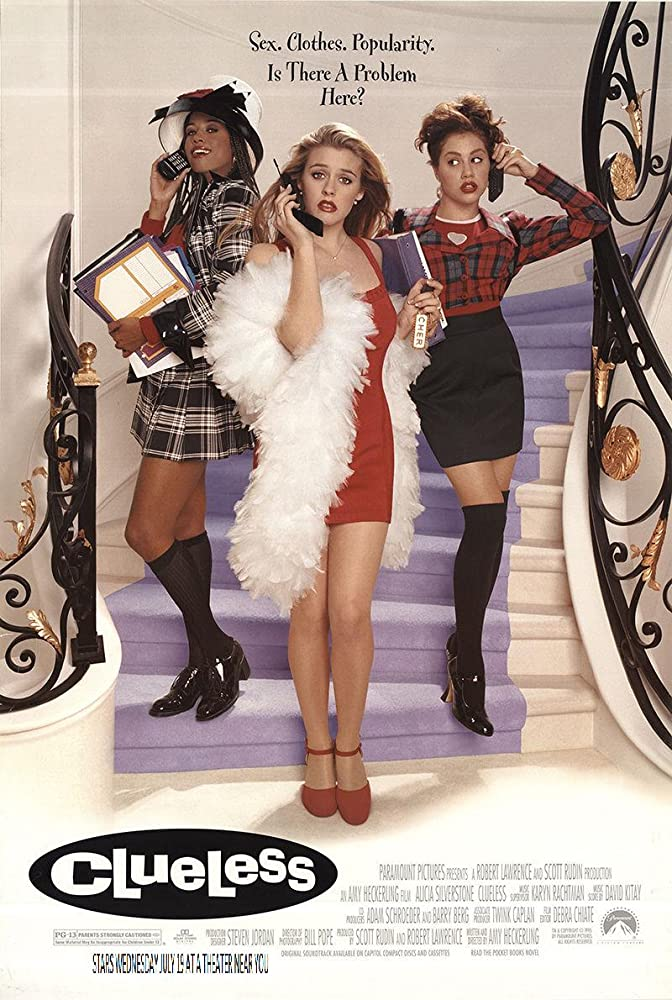 Alicia Silverstone, Brittany Murphy, and Elisa Donovan in Clueless (1995)