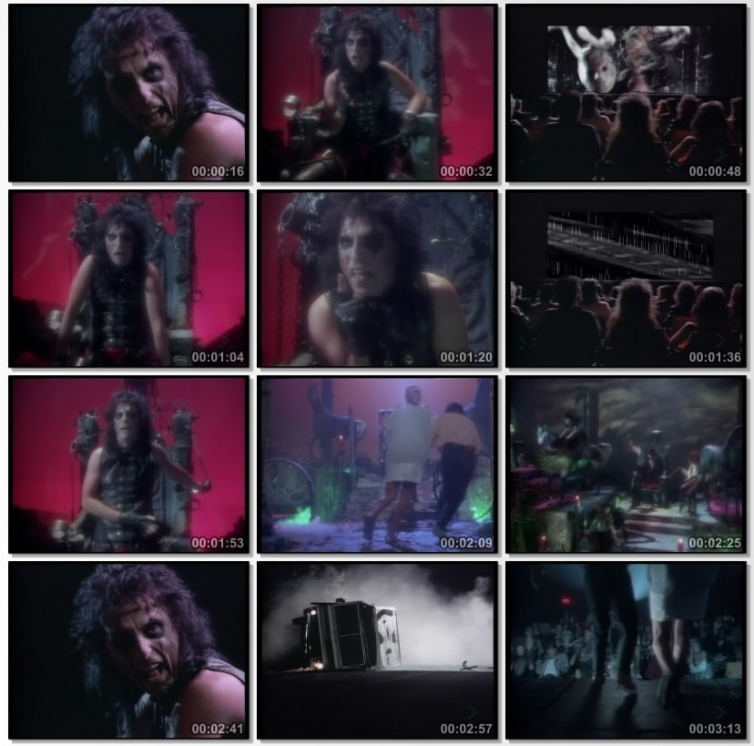 Alice Cooper He S Back The Man Behind The Mask Video 1986 Imdb