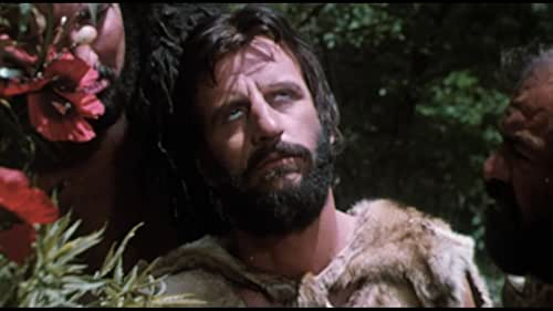 A caveman seeks revenge on a much larger competitor for the hand of a beautiful cavewoman.