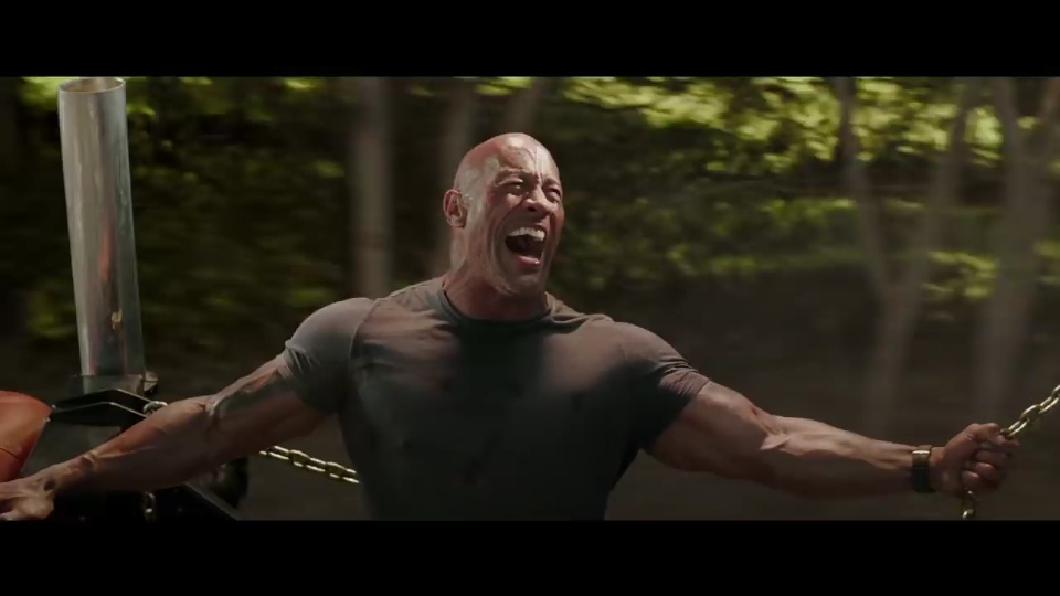 Dwayne Johnson in Fast & Furious Presents: Hobbs & Shaw (2019)