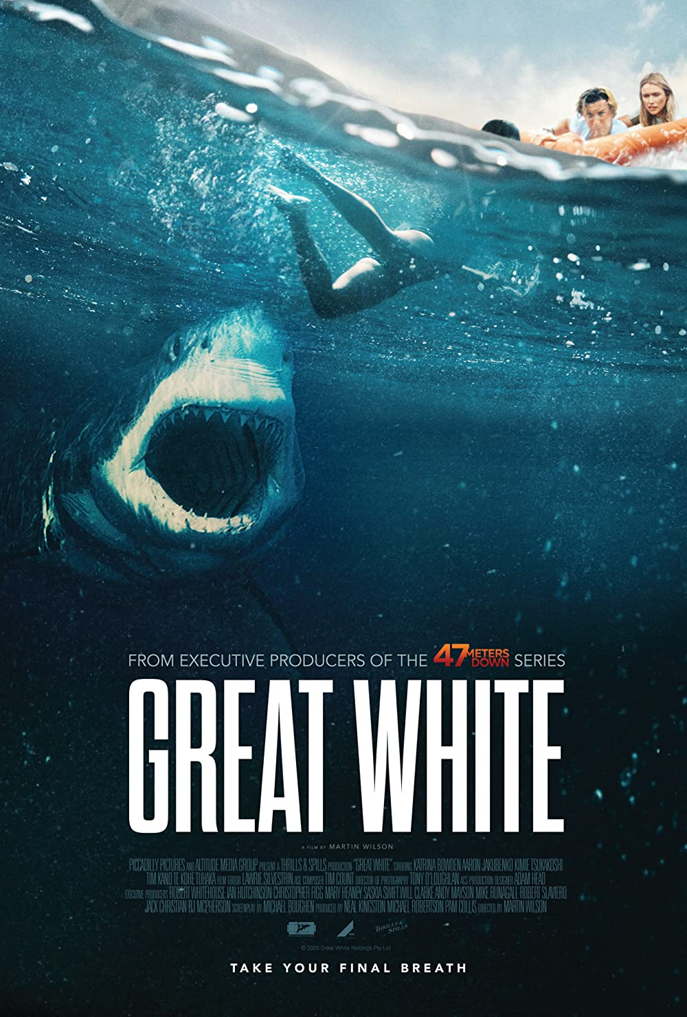 Great White 2021 English 290MB HDRip Download