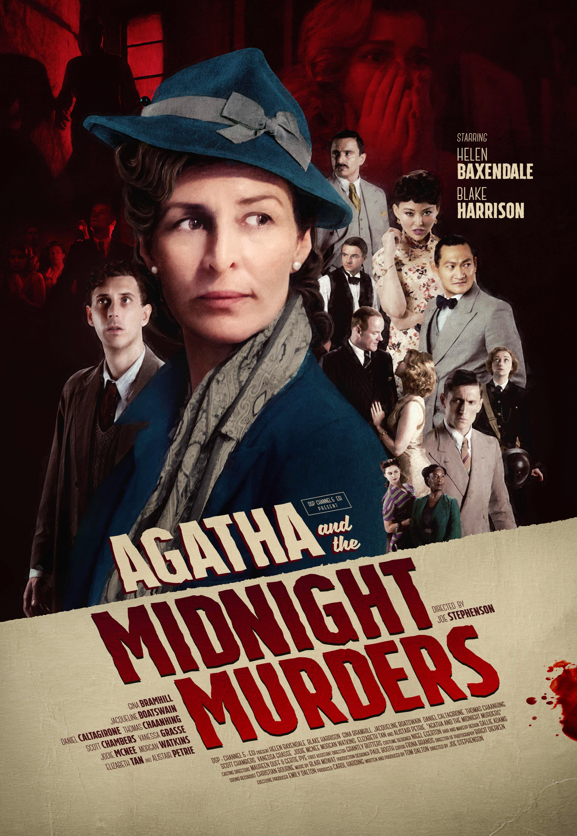 Agatha and the Midnight Murders 2020 English 720p HDRip ESubs 800MB Download
