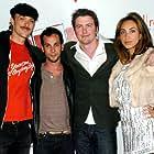 James Lafazanos, David J. Phillips, Adam Rodness, and Skye Collyer in Shark City (2009)