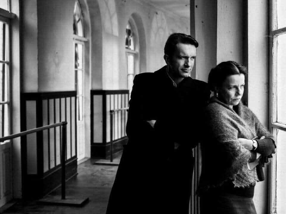 Agata Kulesza and Tomasz Kot in Zimna wojna (2018)