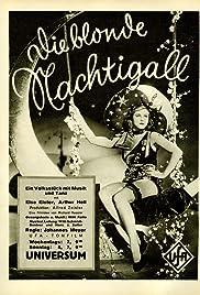 Die blonde Nachtigall Poster