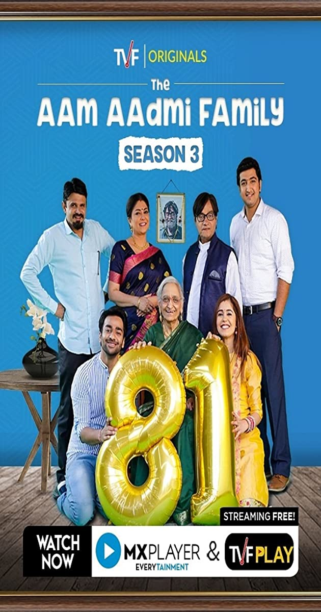 The Aam Aadmi Family (2019) Hindi Season 3 Complete 720p HEVC HDRip x265 AAC [450MB] Full Indian Show