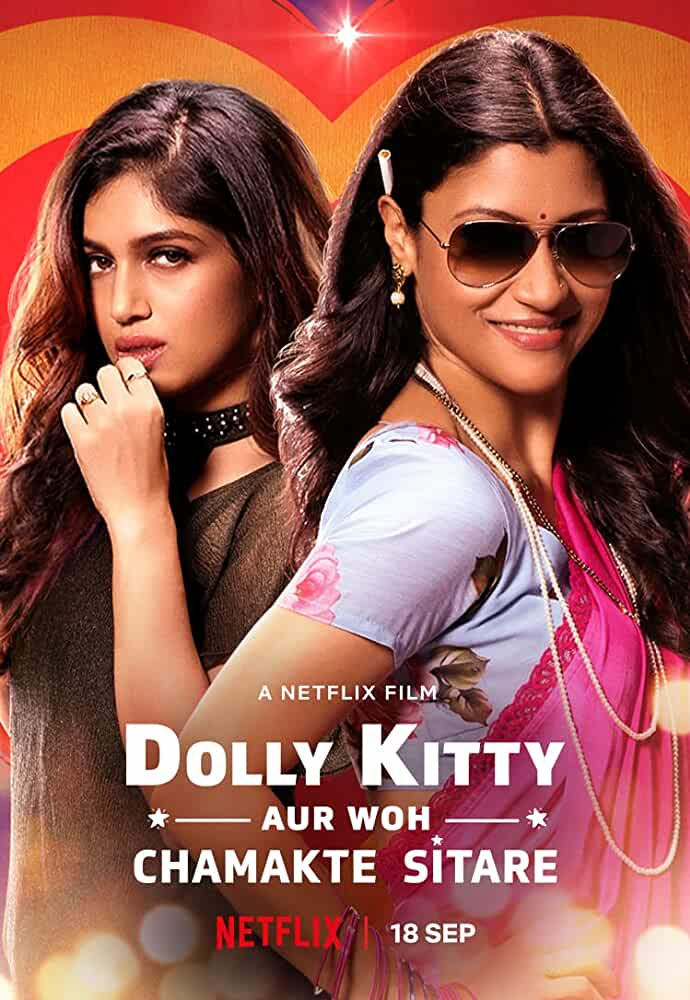 Dolly Kitty Aur Woh Chamakte Sitare (2020) Hindi HDRip – 480P | 720P – x264 – 450MB | 700MB - Download & Watch Online