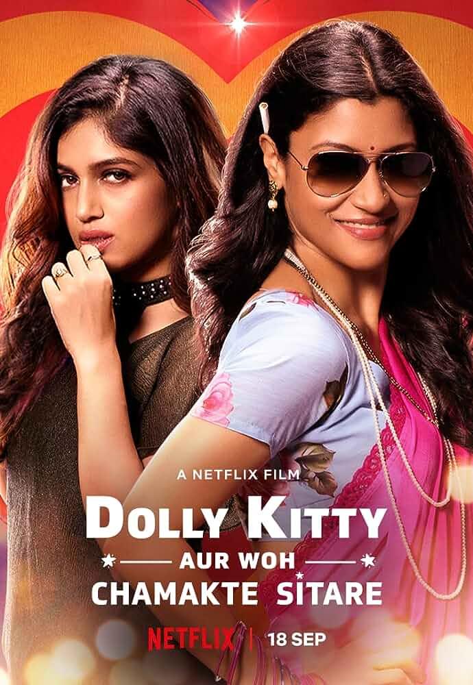 Dolly Kitty Aur Woh Chamakte Sitare (2020) Hindi 720p | 480p WEB-HDRip  1.1 GB | 400 MB