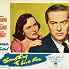 Ray Milland and Teresa Wright in Something to Live For (1952)