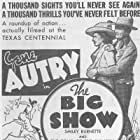 Gene Autry and Kay Hughes in The Big Show (1936)