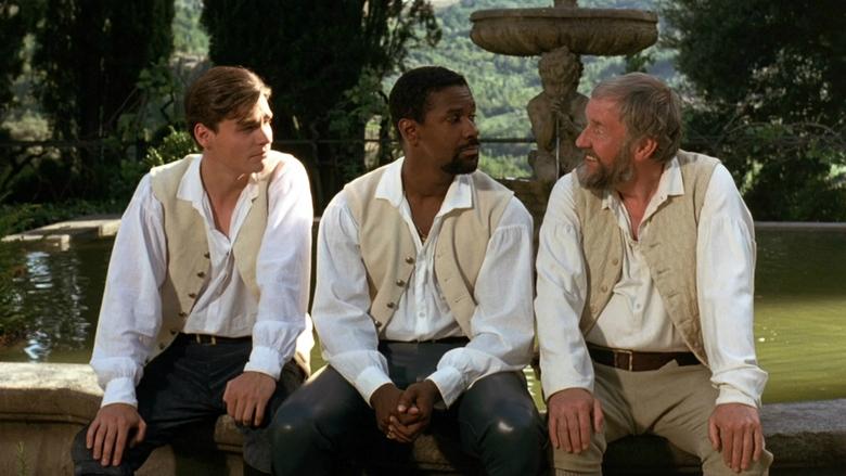 Denzel Washington, Robert Sean Leonard, and Richard Briers in Much Ado About Nothing (1993)