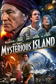 Gabrielle Anwar, Kyle MacLachlan, Patrick Stewart, Omar Gooding, and Danielle Calvert in Mysterious Island (2005)