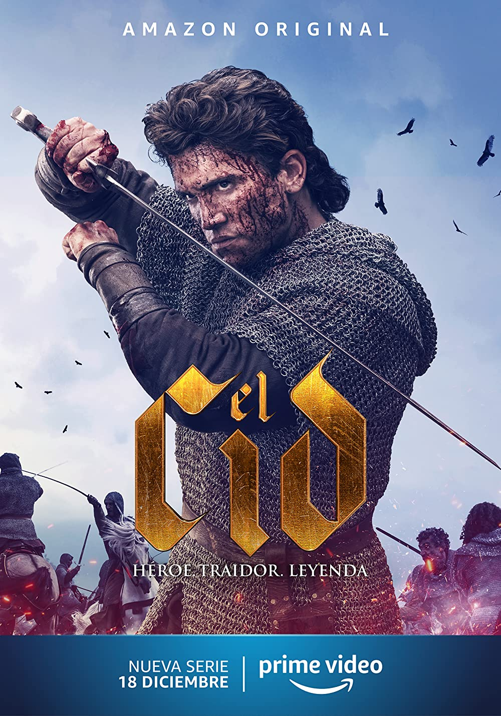 18+ El Cid 2020 S01 English Complete AMZN Web Series 720p HDRip 2GB x264 AAC