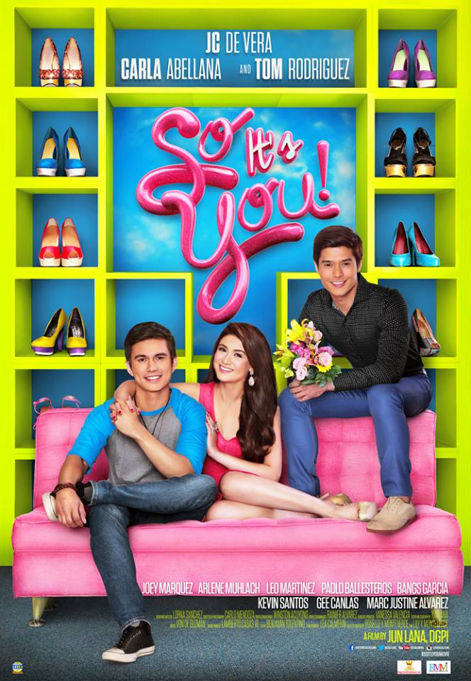 So It's You (2014) DVDRip