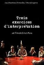 Trois exercices d'interprétation