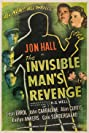 The Invisible Man's Revenge (1944) Poster