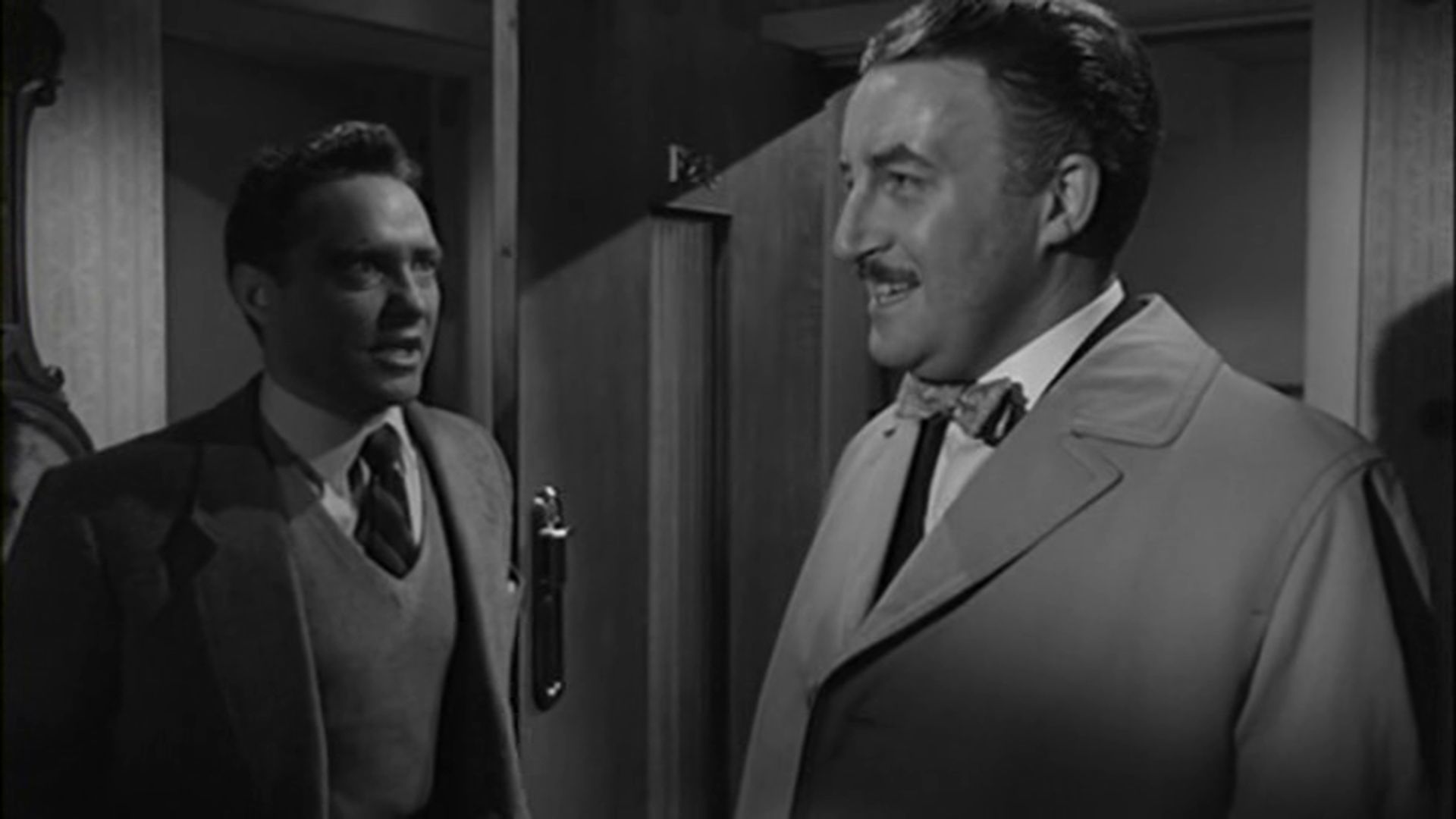 Peter Sellers and Richard Todd in Never Let Go (1960)