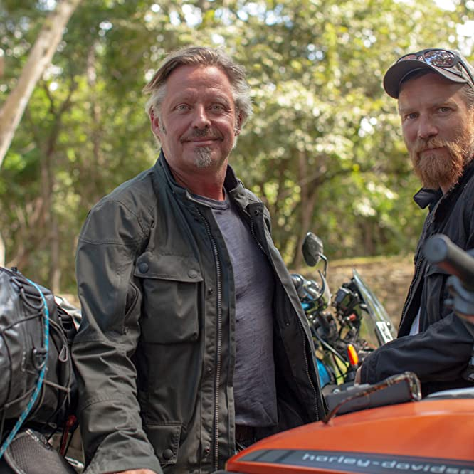 Ewan McGregor and Charley Boorman in Long Way Up (2020)