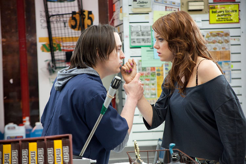 Kieran Culkin and Emma Stone in Movie 43 (2013)